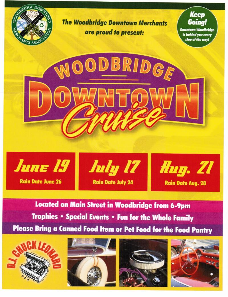 Downtown Car Cruise_ June 19_July 17_Aug. 21