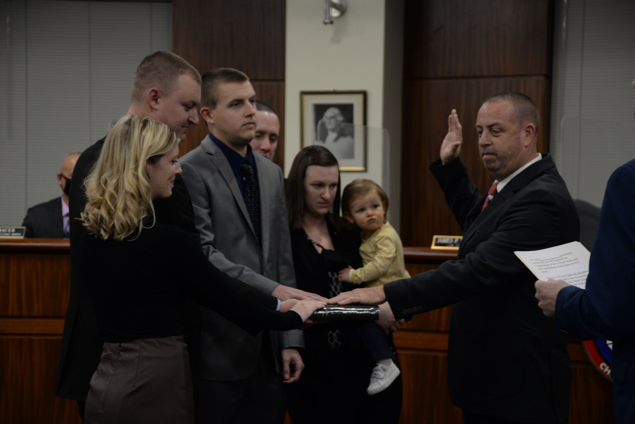 brian small swearing in
