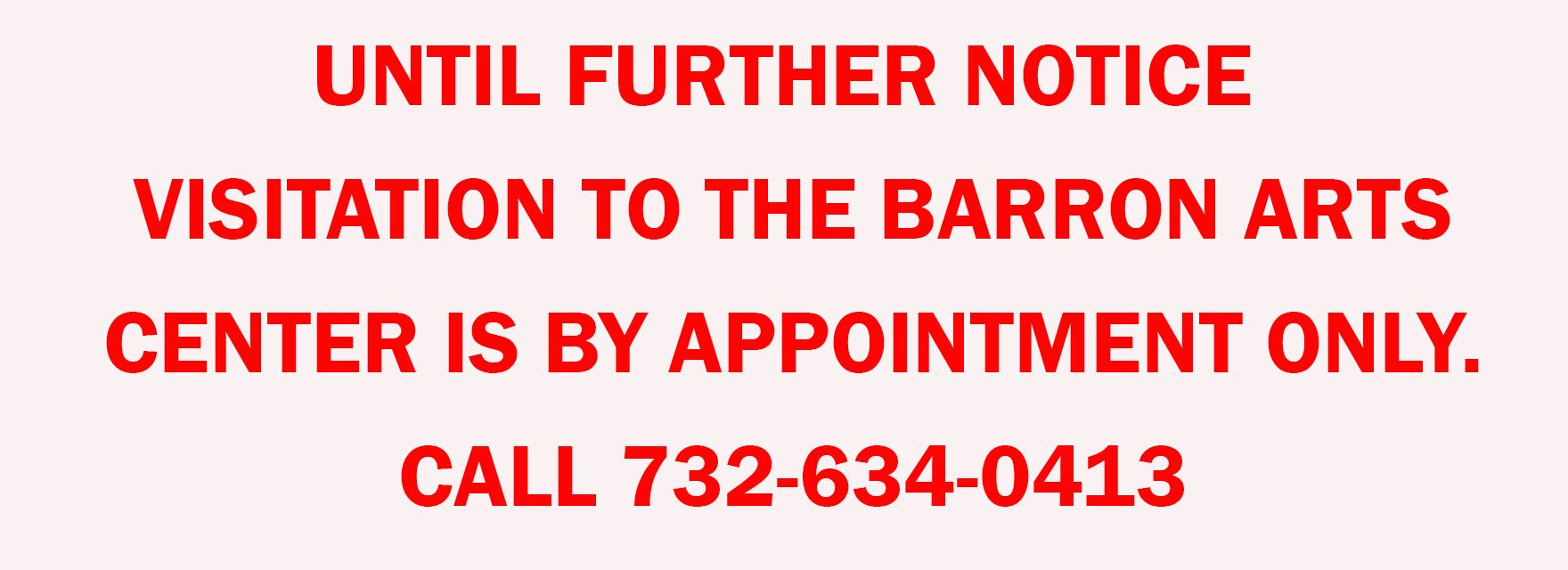 BAC by APPOINTMENT ONLY