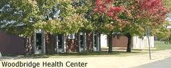 Exterior of Banner Health Center with leafy trees