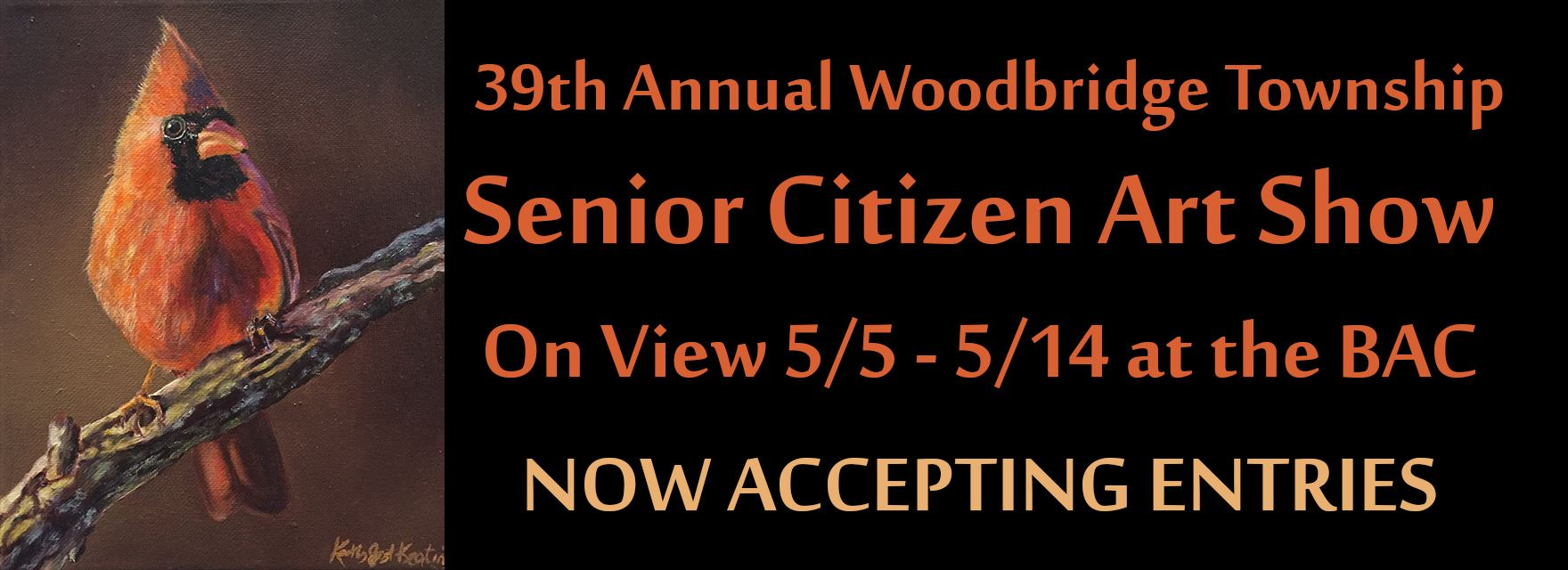 Senior Show 2018-Now Accepting Entries