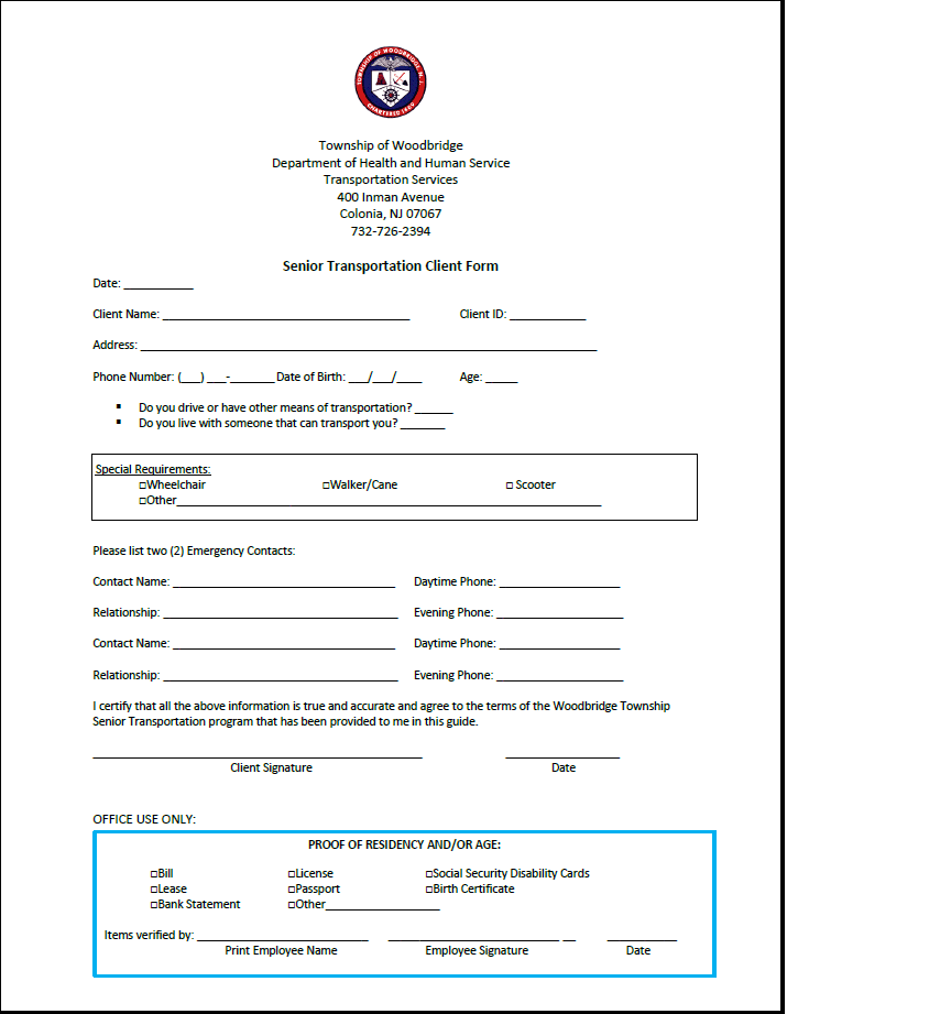 STOW Registration Form