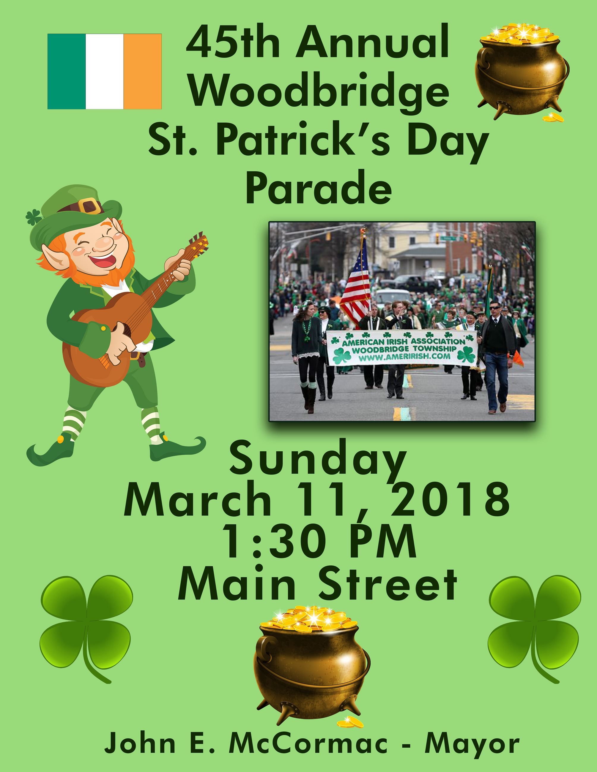 St Pats Parade Flyer2018