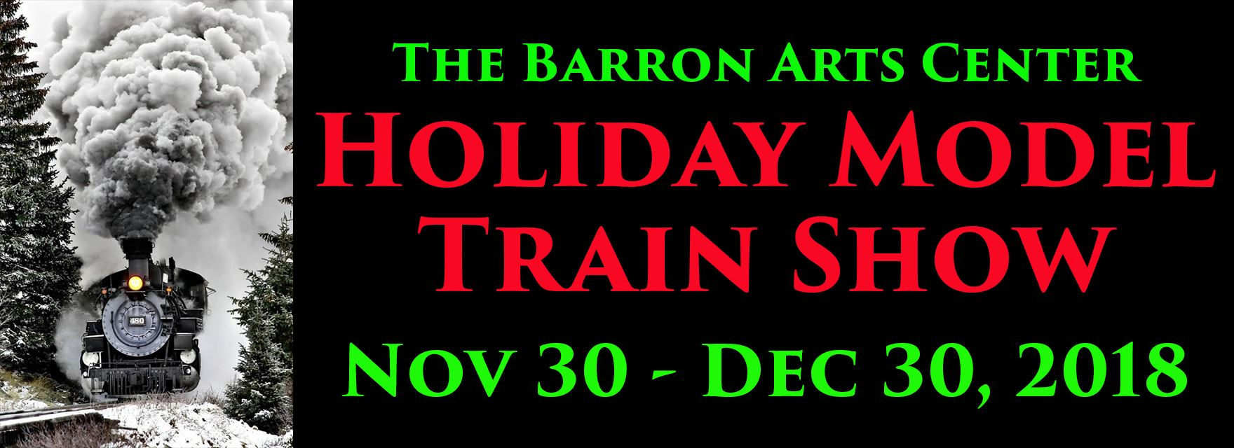 Holiday Model Train Show 2018