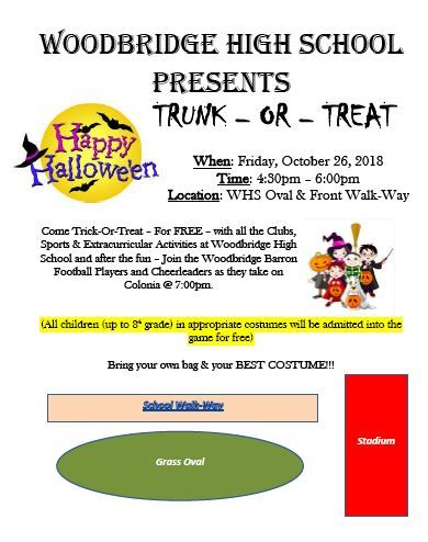 whs Trunk or treat