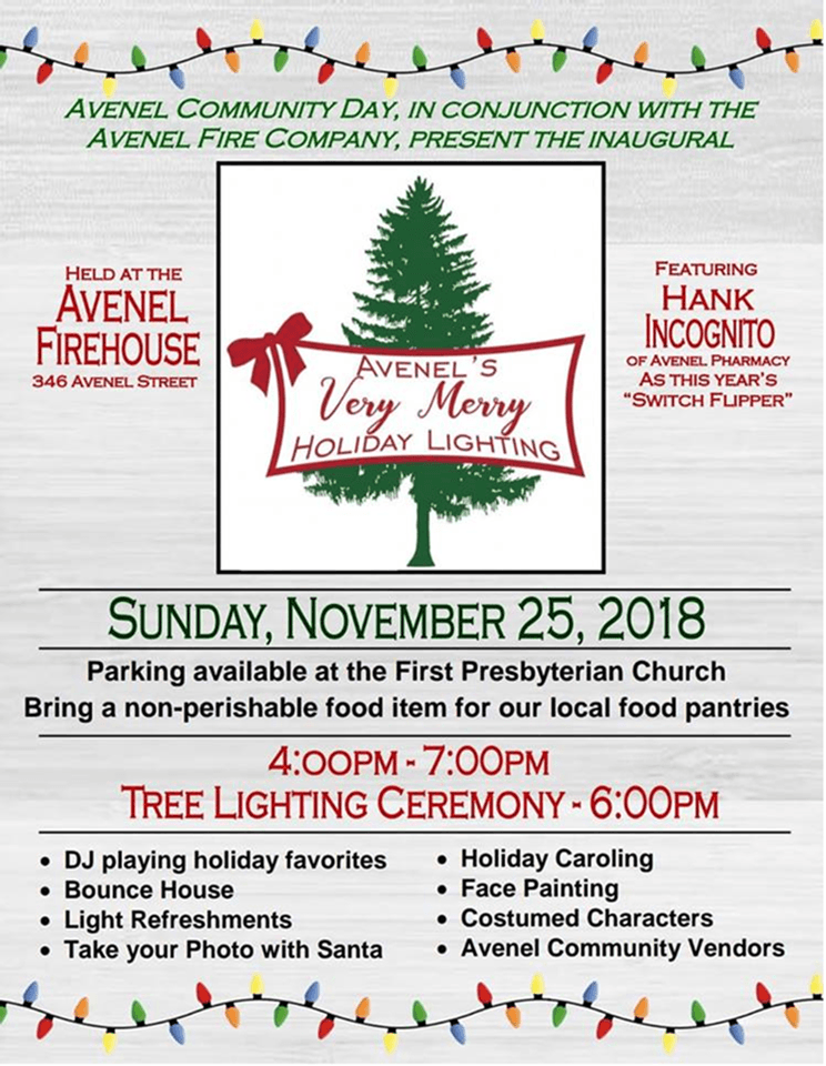 Avenel Tree Lighting Festival_11-25-18