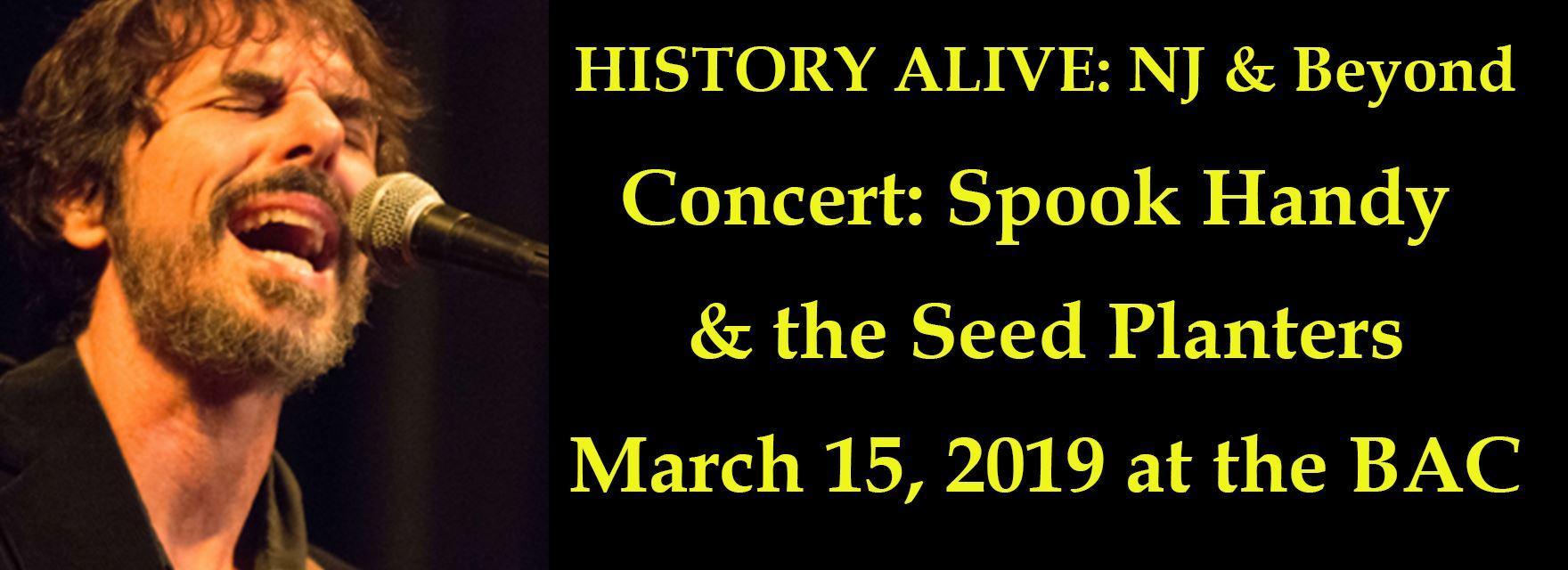 Concert: Spook Handy & the Seed Planters 3/15/2019