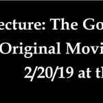 Lecture: The Golden Age of Original Movie Musicals 2/20/2019