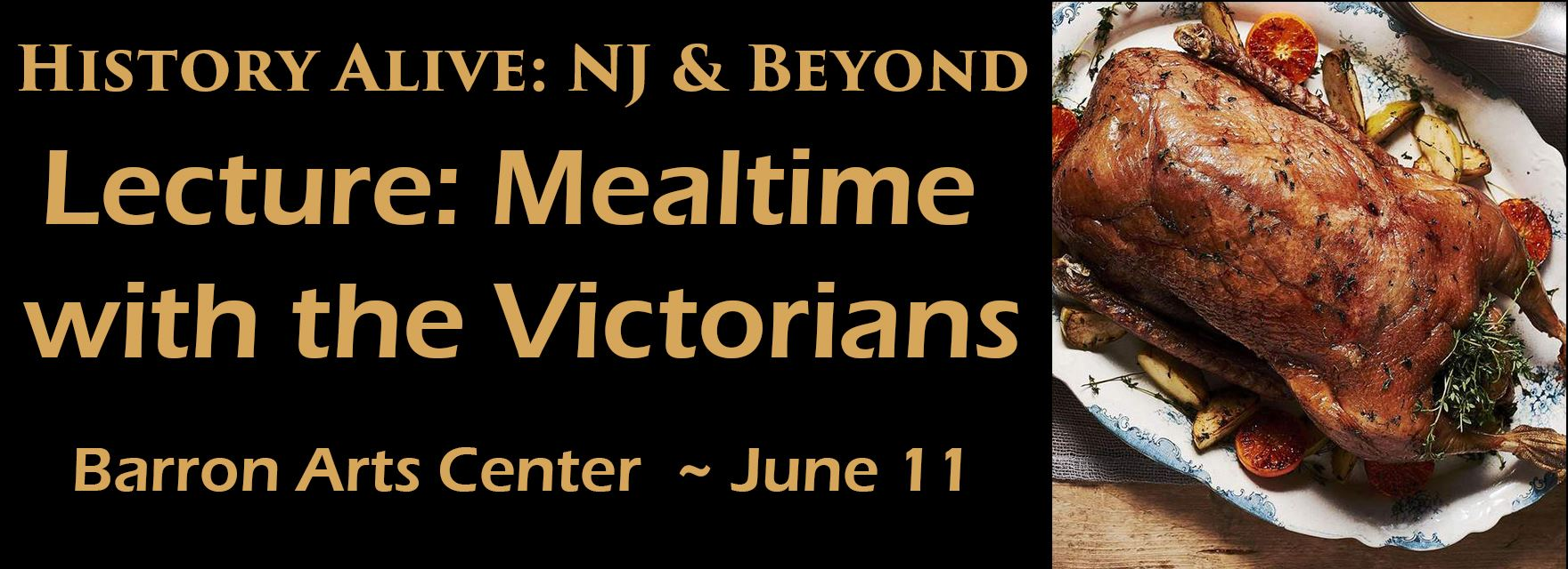 Lecture: Mealtimes with the Victorians