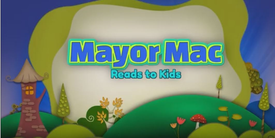 Mayor Mac Reads to Kids