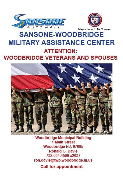 Sansone Woodbridge Military Assistance Center-flyer