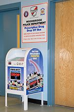 Drug Drop Off Box